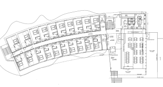 General layout – first 40 rooms.